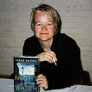 Sarah Waters, British novelist. At a signing i...