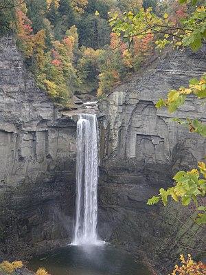 Taughannock Falls in upstate New York