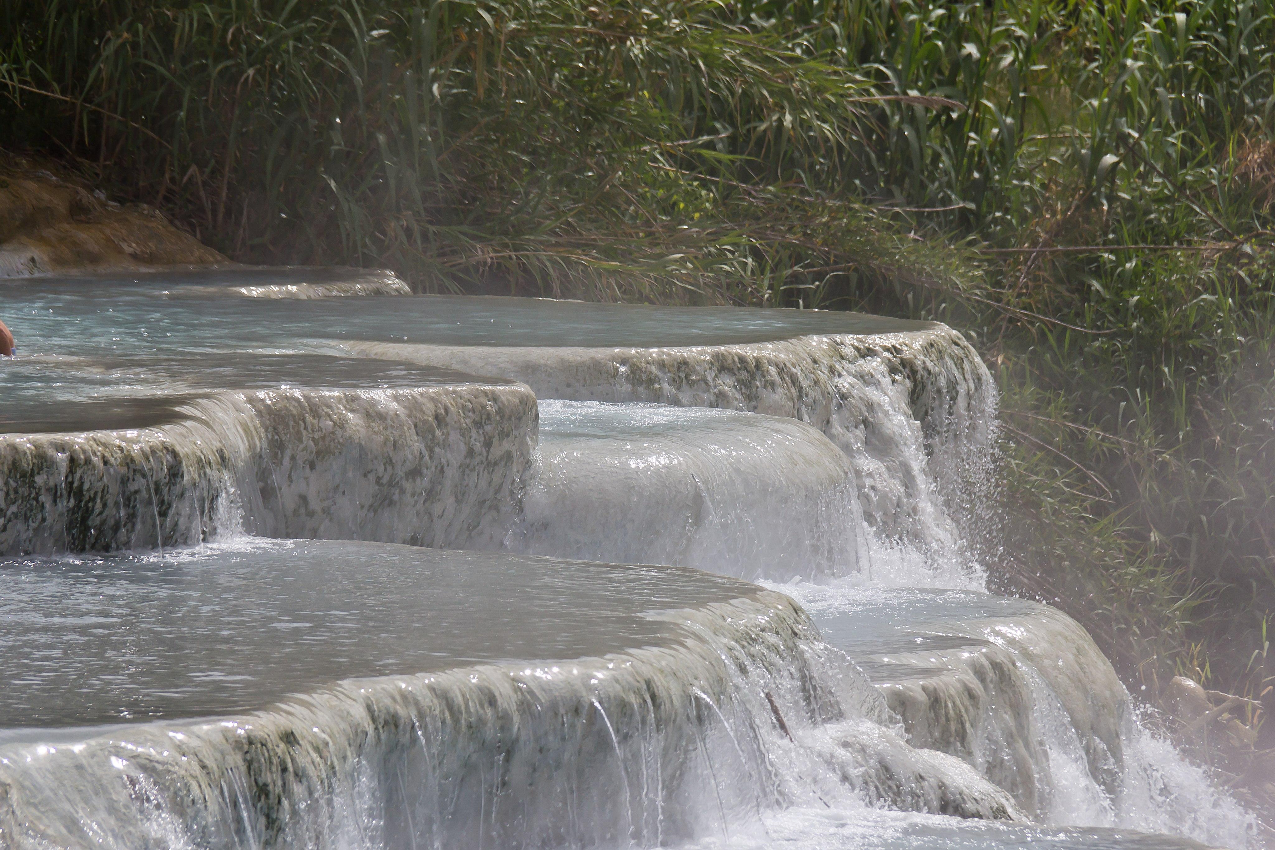Saturnia hot springs and the Tufa Towns  Terme di