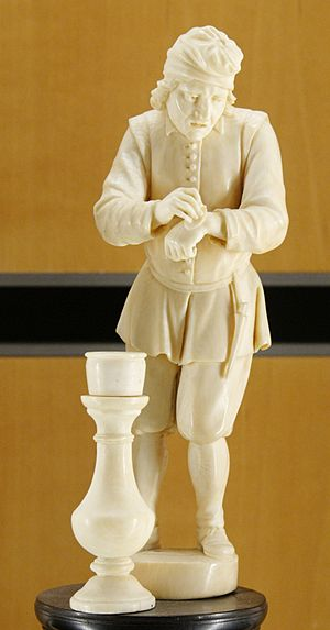 Touch, one of a collection of five figurines r...