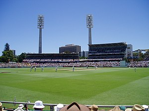 The WACA. Taken in December 2006