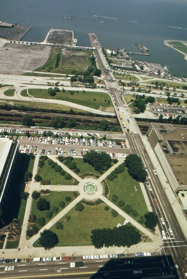 Aerial View of Cleveland Parks