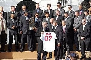 The Boston Red Sox of Major League Baseball (U...