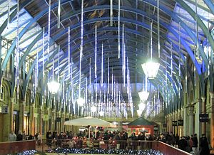 Covent Garden Market, London, UK, Christmas 2008