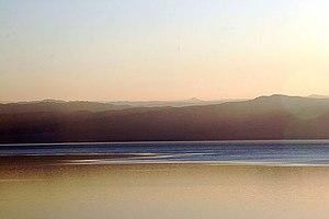 Dead Sea at Dusk 2005. Taken by Nick Fraser.