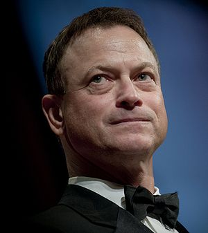 Gary Sinise at a ceremony to receive the Spiri...