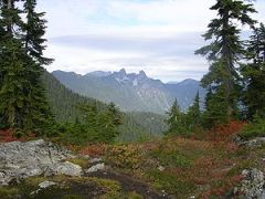 View of The Lions from the Hollyburn Mountain ...