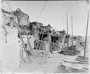 Hopi pueblo, probably Walpi - NARA - 523645