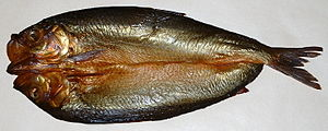 A kipper is a fish which has been split from t...