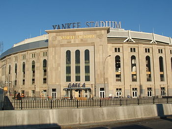 English: Latest Image on the new Yankee Stadium.