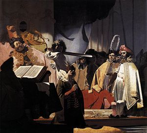 Count Willem III Presides over the Execution o...