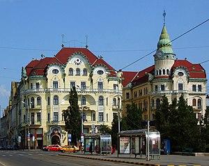Oradea (Nagyvárad), Romania - Hotel Vulturul N...