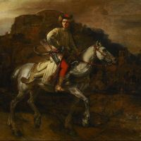 """The Polish Rider"" by Rembrandt"