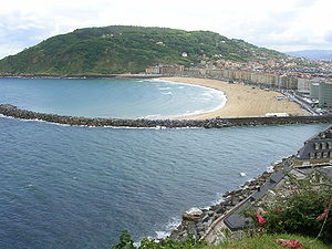 Beach of San Sebastian