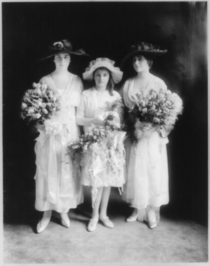 Warburg [wedding] bridesmaids