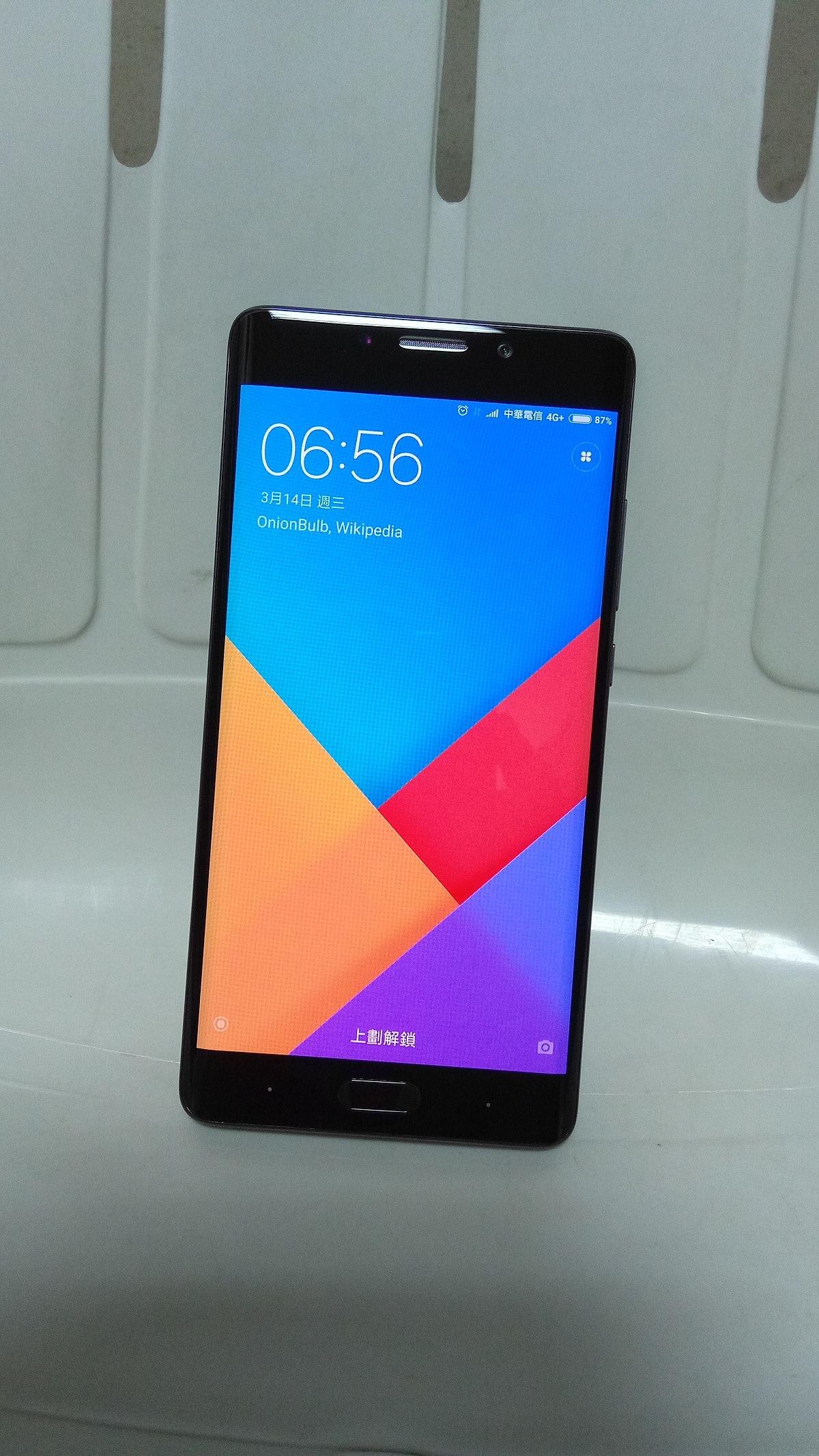 Xiaomi Mi Note 2 Wikipedia