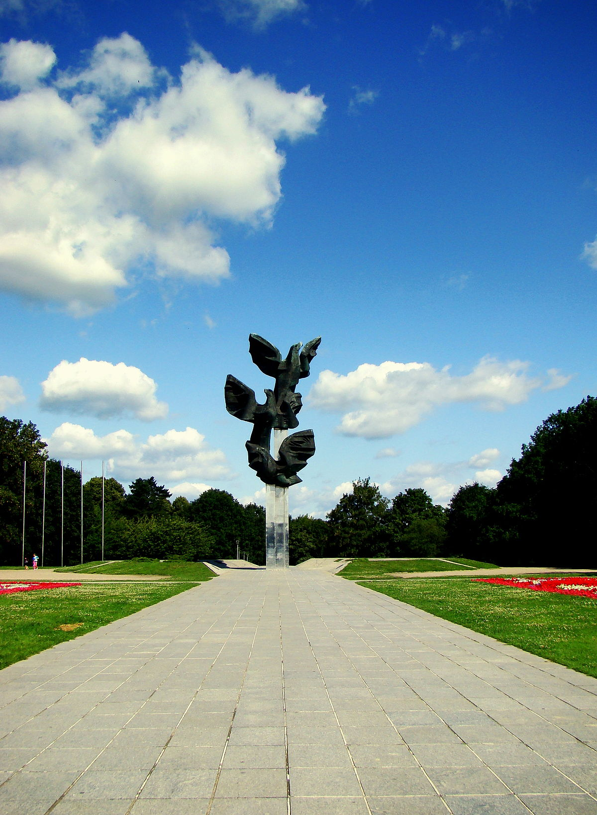 Monument to the Polish Endeavour in Szczecin  Wikimedia
