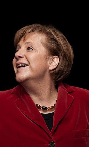 Deutsch: Poträtfoto von Angela Merkel (CDU), d...