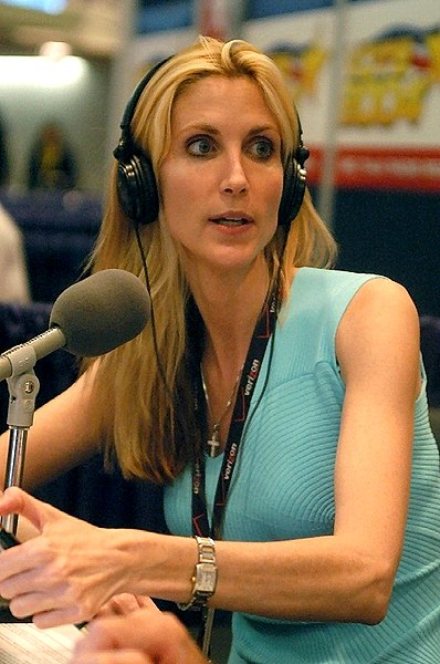 Ann Coulter has Broken Her Jaw, So it Had to be Wired Shut.