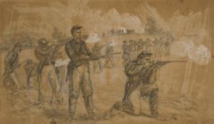 1st Maine Cavalry Skirmishing