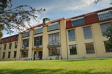the main building of the bauhaus universitat built designed by henry van de velde to house the sculptors studio at the grand ducal saxon art