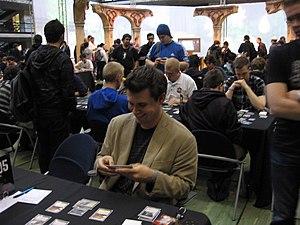 Brian Kibler (US-American Magic: The Gathering...
