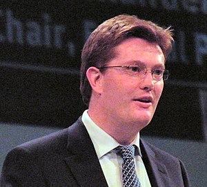 English: Danny Alexander MP addressing a Liber...