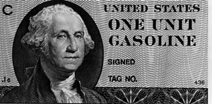 During the 1973 oil crisis, coupons for gasoli...