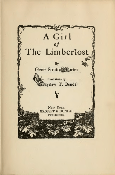 File:Girl of the Limberlost Title page.png