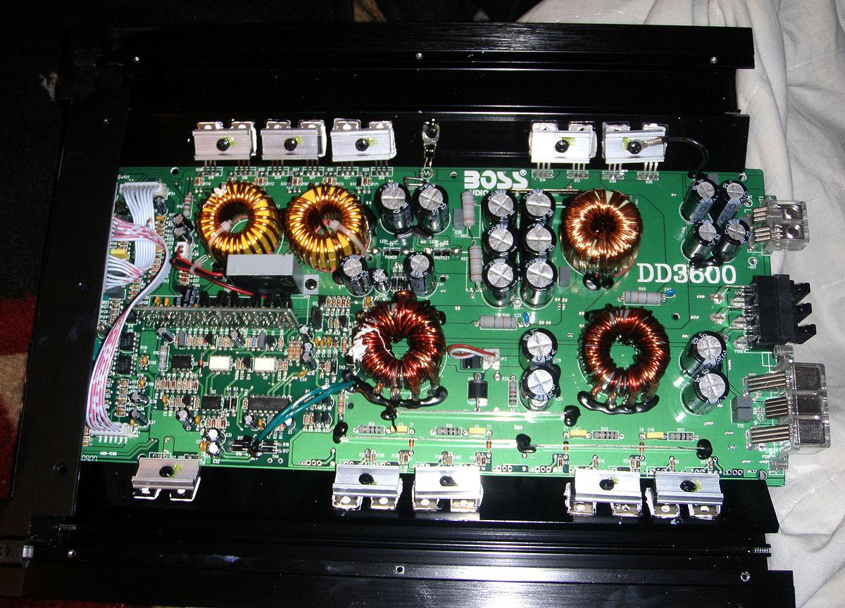 Wiring Diagram Monoblock Amp