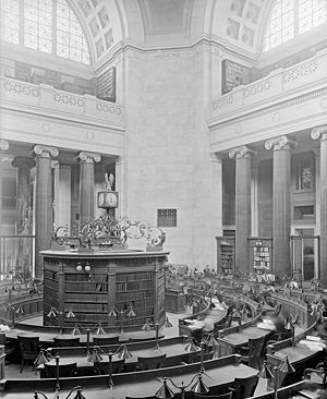Low Library rotunda, Columbia University, New ...