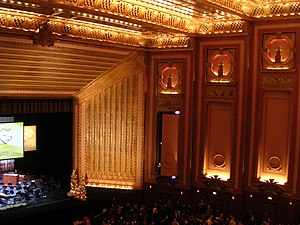 Lyric Opera of Chicago, interior view Original...