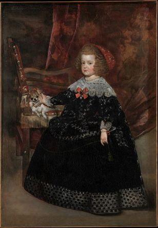 File:María Teresa, Infanta of Spain - Juan Bautista Martínez del Mazo - Q19905348.jpg