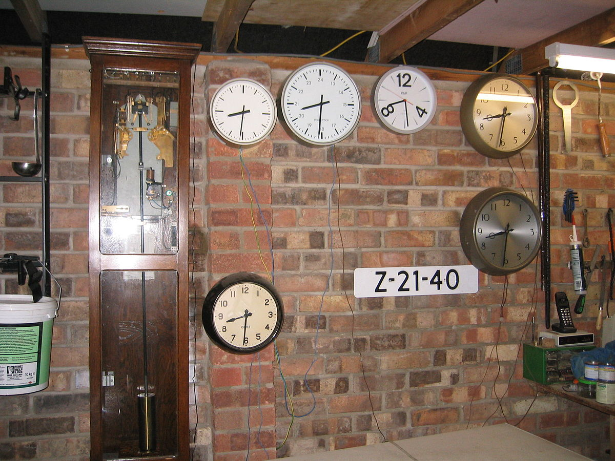 Network Wiring Diagram Master Clock Wikipedia