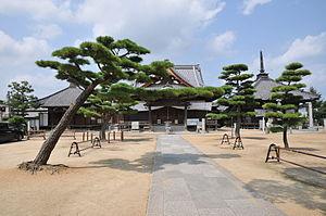 English: Nagao-ji temple 日本語: 長尾寺境内