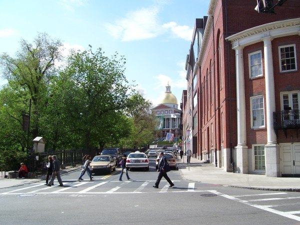 Beacon Hill Boston Massachusetts
