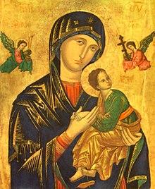 Notre Dame Du Perpétuel Secours : notre, perpétuel, secours, Notre-Dame, Perpétuel, Secours, (icône), Wikipédia