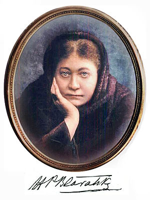 Portrait of Madame Blavatsky