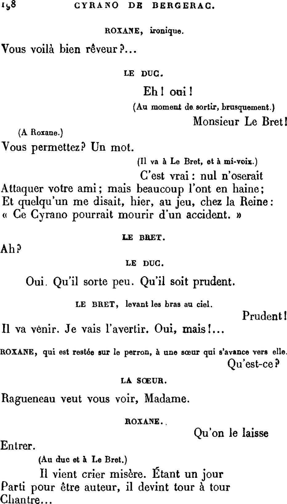 Qu'il Est Ou Qu'il Soit : qu'il, Page:Rostand, Cyrano, Bergerac.djvu/198, Wikisource