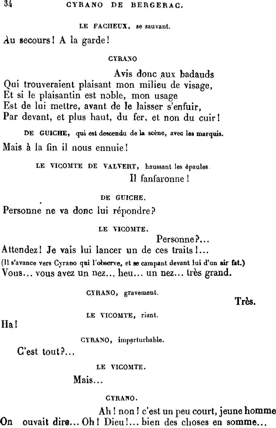 C Est Un Peu Court Jeune Homme : court, jeune, homme, Page:Rostand, Cyrano, Bergerac.djvu/34, Wikisource