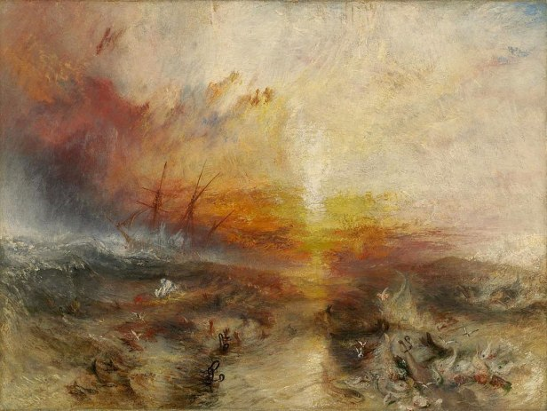 """""""The Slave Ship"""" by J. M. W. Turner"""