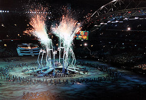 Opening ceremony of 2000 Olympic Games