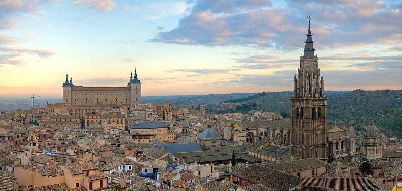 The Old City of Toledo, Spain. (Photo: Wikimedia Commons, author Diliff)