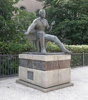Waldemar Grzimek: Heinrich-Heine-Denkmal II. 1...