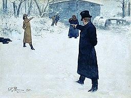 Yevgeny Onegin by Repin