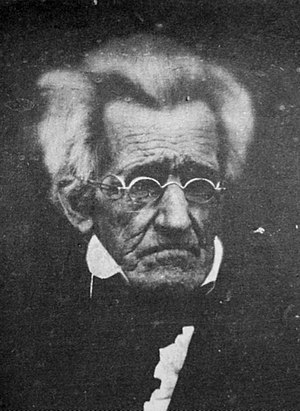 78 year old Andrew Jackson