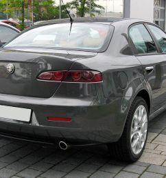 file alfa romeo 159 facelift 20090620 rear jpg [ 1280 x 866 Pixel ]