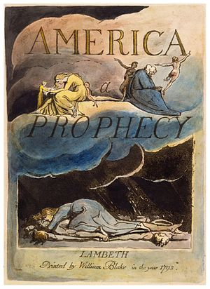 Plate from America a Prophecy, copy A, in the ...