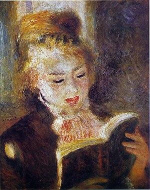 La Liseuse (Jeune Fille lisant un Livre), 1876...