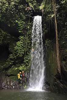 Wallpaper Of Water Fall Canyoning Wikip 233 Dia A Enciclop 233 Dia Livre